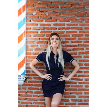 VestidoMangaCurtacomFaixaeZiper15144
